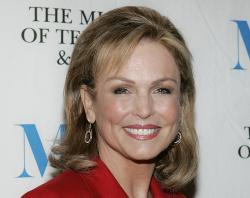 Phyllis George in this Dec. 1, 2005, file photo