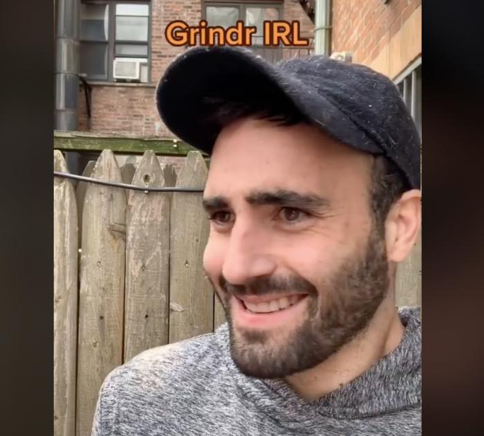 TikTok star Rob Anderson in one of his videos.