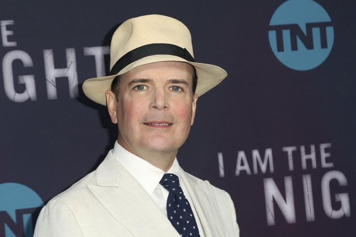 """Jefferson Mays arrives at the """"I Am the Night"""" FYC event in Los Angeles on May 9, 2019."""