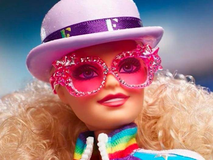 Mattel's new Elton John Barbie