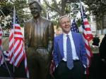 Statue of Former Governor Removed after Policies Criticized