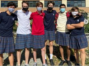 Canadian Teens Protest HS Dress Code by Wearing Skirts to School
